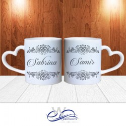 mug personnalis tasse personnalis e coeur wed 39 events. Black Bedroom Furniture Sets. Home Design Ideas