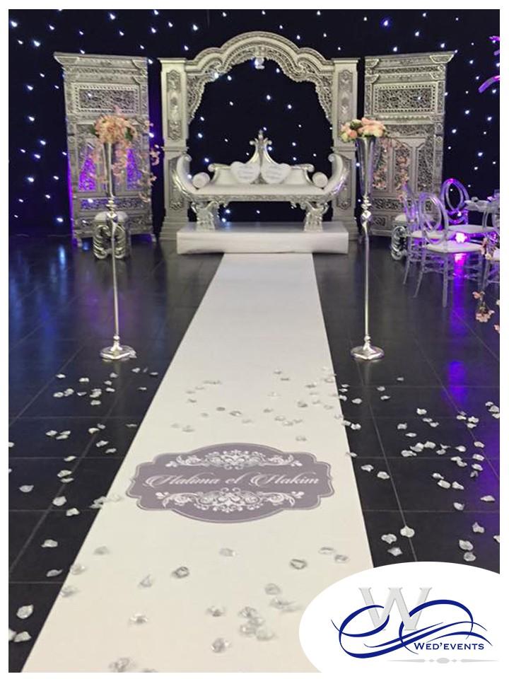 Assez Piste de danse mariage / Stickers de sol - Wed'Events WK52
