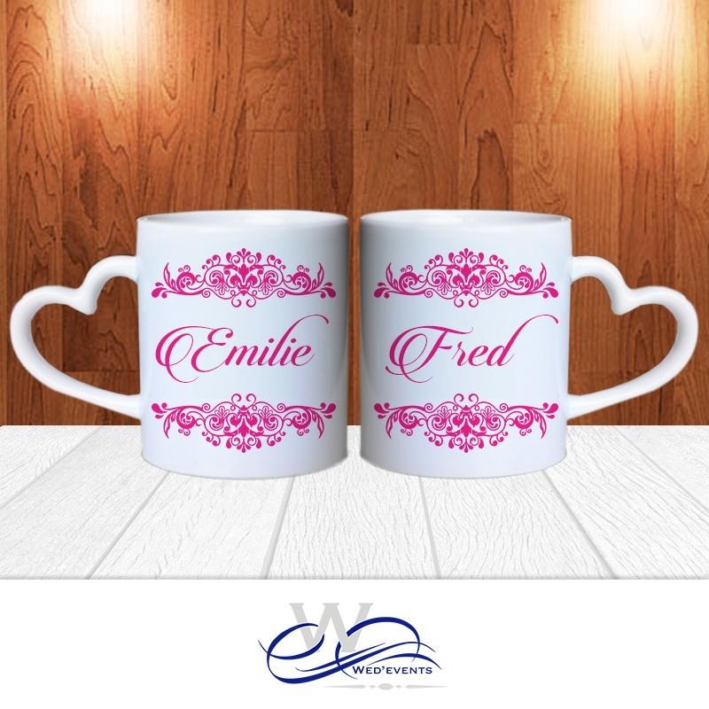 Fabuleux Mug personnalisé - idée cadeau mariage LL58