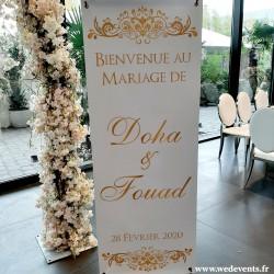 Décoration salle mariage - idée décoration mariage rose