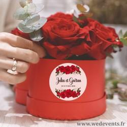 Stickers personnalisé / autocollant personnalisé mariage