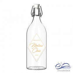 Etiquettes de bouteille personnalisées mariage - Patch