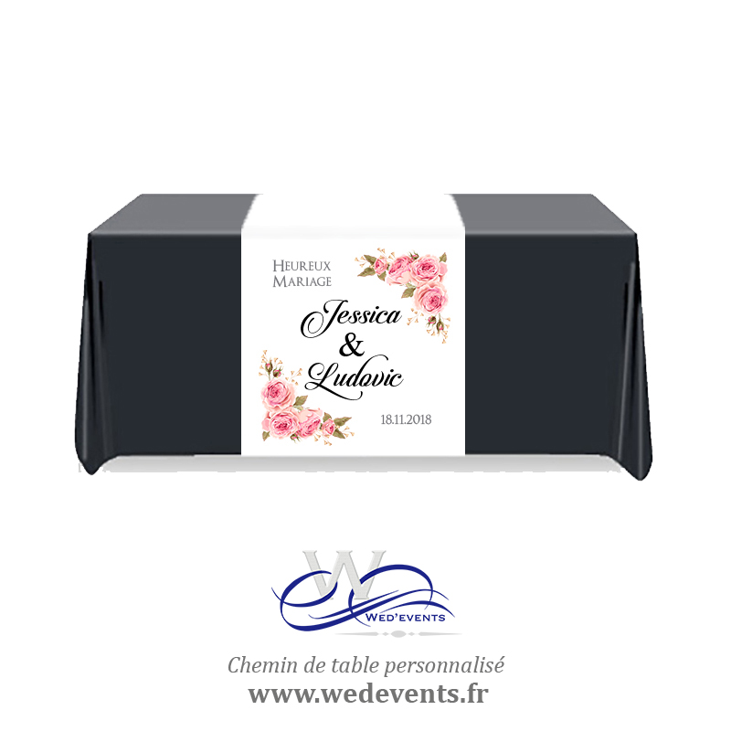 Decoration Table Honneur Prenom Amour