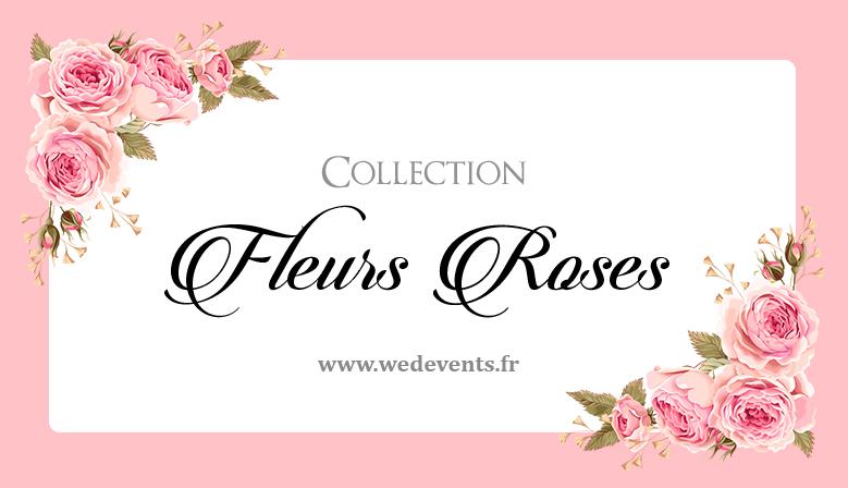 décoration mariage florale personnalisé avec prénom et date