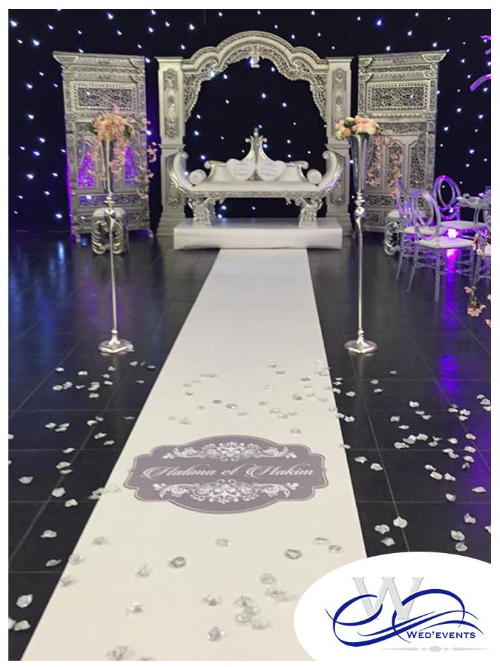 nouveaut mariage 2016 personnalisez votre tapis d 39 all e. Black Bedroom Furniture Sets. Home Design Ideas